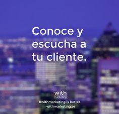 Escucha activa #withmarketing #marketing