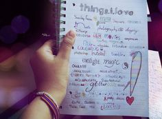 """I think it's important to notice, to list, to say, """"thanks: for the things we love."""