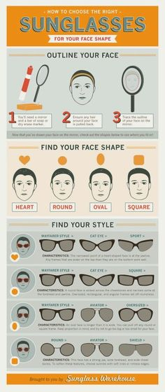 Finding the perfect sunglasses