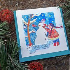 Darina Gulbina. Watercolors & lettering cards. Welcome instagram.com/daryagulbina  facebook.com/clubdaryagulbina  vk.com/clubdaryagulbina #watercolor #watercolors #newyear #happynewyear #christmascard #finearts #handdrawn #drawing #illustration #illustrations #card #cards #postcrossing #postcard #postcards #draw #handmade #crafts #craft #handycrafts #illustrator #calligraphy #lettering #handlettering #watercolorlettering #christmas #christmascards #cards #watercolor