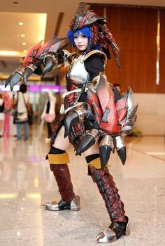 anime armor #cosplay