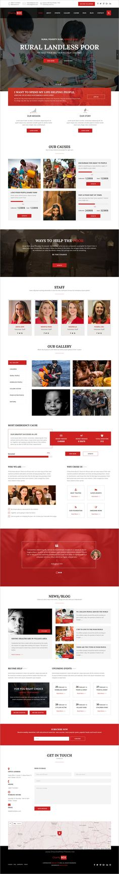 CherityBox is a perfect 3 in 1 #bootstrap #HTML5 template suitable for #Charity, NGO, non-profit organization, donation, Cause, Fundraising website download now➩  https://themeforest.net/item/cheritybox-charity-nonprofit-html5-template/18791271?ref=Datasata