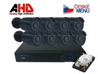 Securia Pro Kamerový set AHD8CHV1/1TB - černá