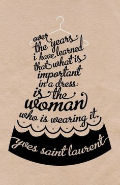 Be a great woman.