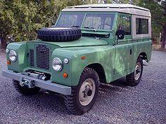"""1968 Land Rover Series IIA 88 """"Bug Eye"""""""