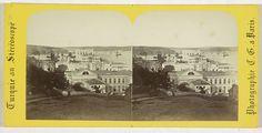 Charles Gerard | Vue generale du nouveau palais du sultan a Dolma Batche, Constantinople, Charles Gerard, 1860 - 1880 |