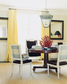 Light yellow adds a subtle pop of color. | http://domino.com