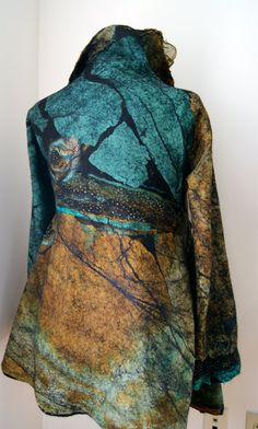 Nuno Felted ButterflyJacket Size M/L a by sugarplumoriginals