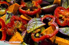 Vegetarian Recipes, Healthy Recipes, Healthy Food, Ratatouille, Caprese Salad, Bruschetta, Clean Eating, Food And Drink, Stuffed Peppers