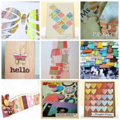 ideas for using your scraps #paper