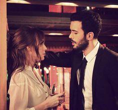 Kiralık Aşk Big Love, First Love, Hayat And Murat, Elcin Sangu, Turkish Actors, Love Couple, Barista, Beautiful Actresses, Cute Couples