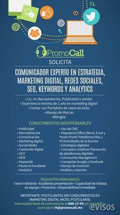 SOLICITO PERSONAL PARA DIGITAL MARKETING  OFREEMOS: BUEN AMBIETE DE TRABAJO PRESTACIONES A ..  http://tijuana-city.evisos.com.mx/solicito-personal-para-digital-marketing-id-618874