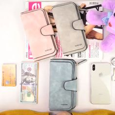 Frosted 14 Card Purse Multi Card Slots Phone Bag # - Manualidades y Bricolaje Ropa Cute Handbags, Hermes Handbags, Cheap Handbags, Purses And Handbags, Fashion Handbags, Luxury Handbags, Popular Handbags, Fashion Bags, Fashion Purses