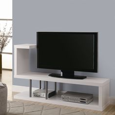 Monarch Specialties I 255 60-in TV Console | ATG Stores