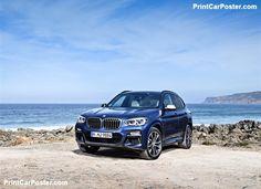 BMW X3 M40i 2018 poster, #poster, #mousepad, #tshirt, #printcarposter Bmw Car Models, Bmw Cars, Bmw M9, New Bmw X3, Bmw Hybrid, New Bmw 3 Series, Tuning Bmw, Bavarian Motor Works, Car Posters