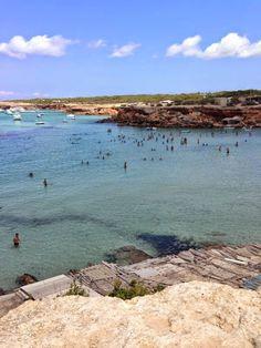 Cuaderno de viajes: Formentera -  Cala Saona