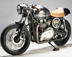 Analog MCs 07 Thruxton - The Thruxton 312 is the end result of two rounds of custom work by Analog Motorcycles