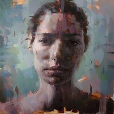 Jerome Lagarrigue (b. August is an award-winning French painter and illustrator. His illustrating and painting wo. L'art Du Portrait, Portraits, Portrait Paintings, Art Paintings, Inspirational Artwork, Portrait Background, Art Et Illustration, Figurative Art, Art Images