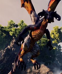 Dragon Age: Inquisition (dragon hunting is so fun!)