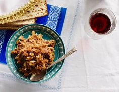 easy Ashkenazi charoset -- a Passover Seder fixture -- features apples ...