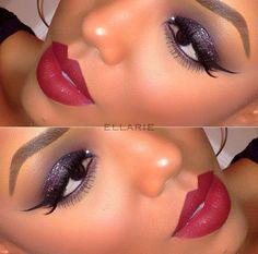 maquiagem afro, maquiagem para negras, maquiagem para pele morena, maquiagens…