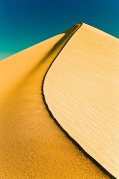 Desert -- not only is Mother Nature a colorful, magical painter, but she is a pristine sculptor -- whether in sand or stone.