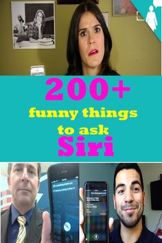 200+ funny things to ask Siri