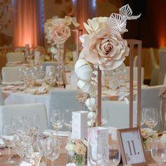 129 отметок «Нравится», 6 комментариев — Papír Virág (@flow_art_decor) в Instagram: «#flowartdecor #weddingdecor #workforfun #kooadrien #rosegoldwedding #larusetterem»