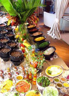 Decoração de A a Z: Ideias para Festa ...Almoço Feijoada