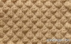 Yet another nice knitting stitch from a Russian site. Use Google Translate (or something lie it) to get the translations in your language.