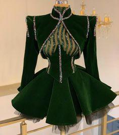 #velvet#sequin#fullcolor#crystals#donamatoshi Glam Dresses, Couture Dresses, Elegant Dresses, Pretty Dresses, Beautiful Dresses, Short Dresses, Fashion Dresses, Classy Outfits, Classy Dress