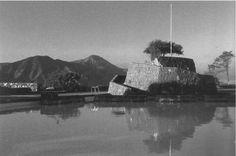 Clásicos de Arquitectura: Piscinas del Cerro San Cristobal: Antilén - Tupahue / Carlos Martner River, Mansions, Country, House Styles, Beach, Outdoor, Image, Santiago Chile, Saints