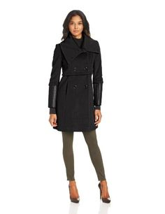 T Tahari Women's Madison Double Breased Wool Coat With Faux Leather Sleeves, Black, 2 T Tahari,http://www.amazon.com/dp/B00D82VNPI/ref=cm_sw_r_pi_dp_.Dqusb09X7NJS9VZ