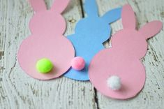 DIY Printable Bunny Gift Tags + FREE Printable Easter Bingo Game
