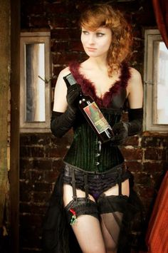 Our Poland Absinthe friends in Warsaw with the Swiss Absinthe Boheme. Burlesque, Corset, Punk, Warsaw, Poland, Friends, Style, Fashion, Moda