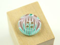 Lovely Plastic Buttons - Translucent Light Cyan Color Fringe Plastic Buttons.  0.51 inch. 10 pcs by Lyanwood, $3.00