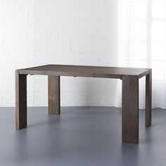 CB2 - May Catalog 2016 - Blox 35x63 Dining Table  $499