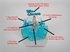 Quinceanera Favor #065. For more details, including color options and pricing, please visit our website www.lacrafts.com (Recuerdo para Quinceanera #065. Para más detalles, incluyendo opciones de color y los precios, por favor visite nuestro sitio web www.lacrafts.com)