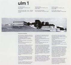 typography, design, Ulm journal, graphic design, invitation. book design