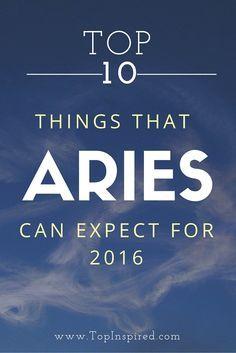 Aries Zodiac for 2016