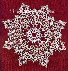 Tatting Grandma: TIAS - Center tatting