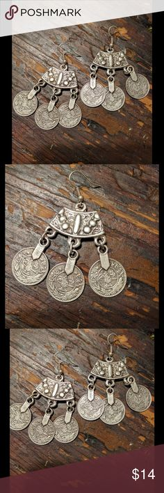 Turkish Silver Earrings Turkish Silver Earrings NWOT Jewelry Earrings