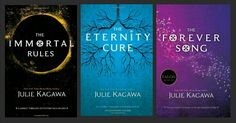 Julie Kagawa - Blood of Eden Series (The Immortal Rules, The Eternity Cure  The Forever Song)