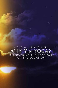 Yin and Yang are two poles of a unifying whole: they can only be truly understood in relation to each other.  How does this influence our Yoga and how can we incorporate the principles of Yin and Yang in a constructive way? #yinyoga #yinandyang #chiaradina #balance