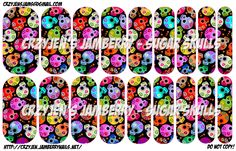 Sugar Skulls - Jamberry NAS Designs N.A.S.