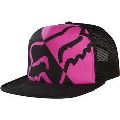 Fox Racing Womens Integrate Trucker Hat in Black Deals on - Fox Womens Juniors Integrate Trucker Coupons, Fox Racing Clothing, Fox Rider, Flat Bill Hats, Flat Hats, Fox Hat, Fox Logo, Metal Mulisha, Cool Hats, Ladies Boutique