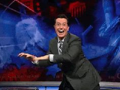 Discover & share this Stephen Colbert GIF with everyone you know. GIPHY is how you search, share, discover, and create GIFs.