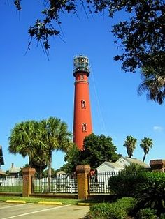 Ponce Inlet lighthouse near Daytona, Florida - my son lived not so far from here