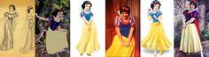 Snow White:Concept art, Movie, Merchandise Design, Face Character, Merch Redesign, Face Character Redesign