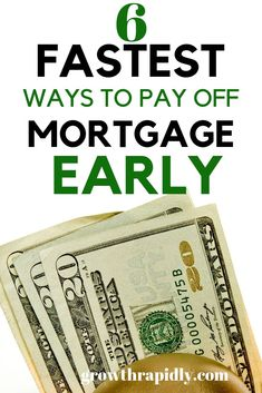 How to pay off your mortgage faster. If you are looking to accelerate your mortg - Mortgage Payoff Tips - Tips of paying off Mortgage - Paying Off Mortgage Faster, Pay Off Mortgage Early, Mortgage Companies, Mortgage Tips, Insurance Companies, Credit Score, Credit Cards, Branding, Mortgage Quotes